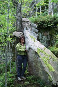 Michaela Ghisletta und Waldgeist