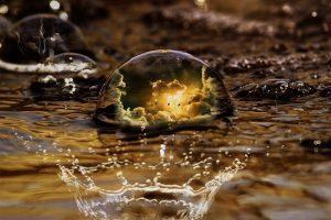 Mediale Ausbildung Wassertropfen